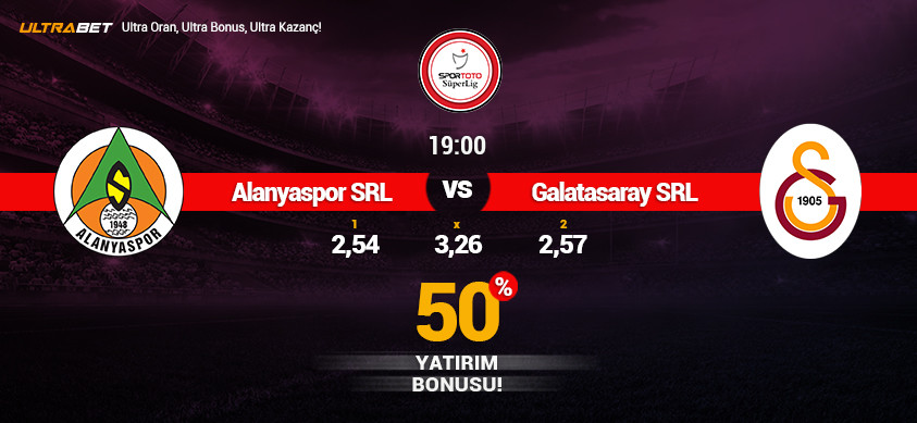 Alanyaspor - Galatasaray Simülasyon Maçı