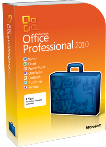 Microsoft Office 2010 Pro Plus - Project Pro - Visio Pro SP2 VL TR | Mart 2018