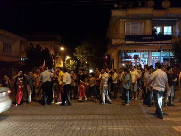 Gölbaşı'nda Terör Saldırıları Protesto Edildi
