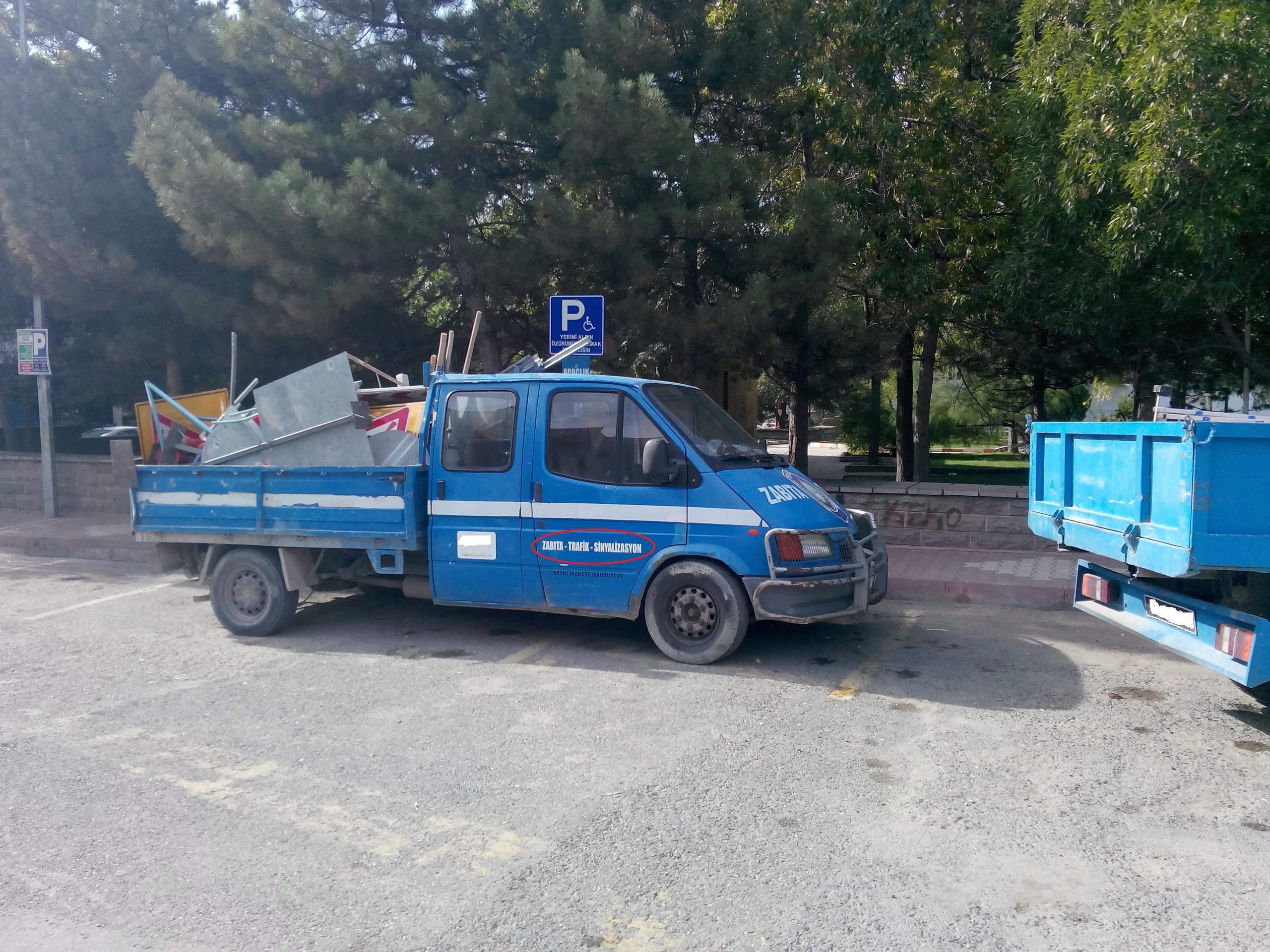 Xoaqr5 - Engelli park yeri mi; o da ne?