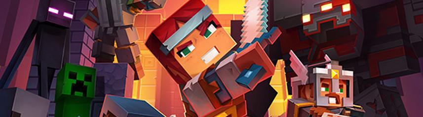 Minecraft Dungeons Resmi Olarak PC, PS4, XBOX ONE VE NİNTENDO SWİTCH'te Başlıyor