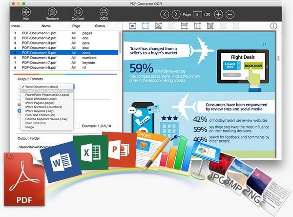 Lighten Software PDF Converter OCR 4.0.0 - MacOSX