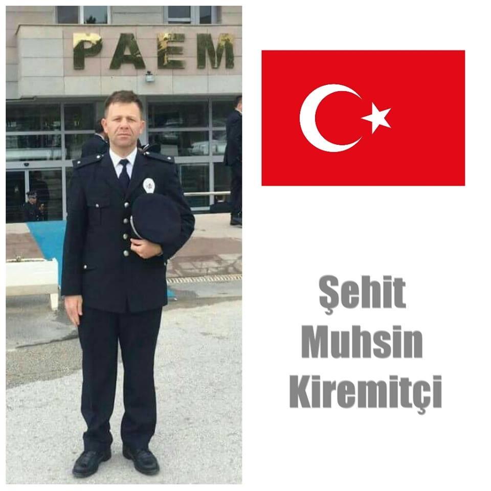 Özel harekat komiser yardımcısı şehit Muhsin Kiremitçi