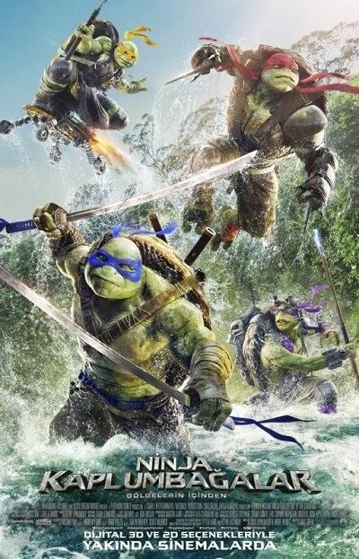 Ninja Kaplumbağalar: Gölgelerin İçinden | 2016 | BRRip XViD | Türkçe Dublaj - Tek Link indir<