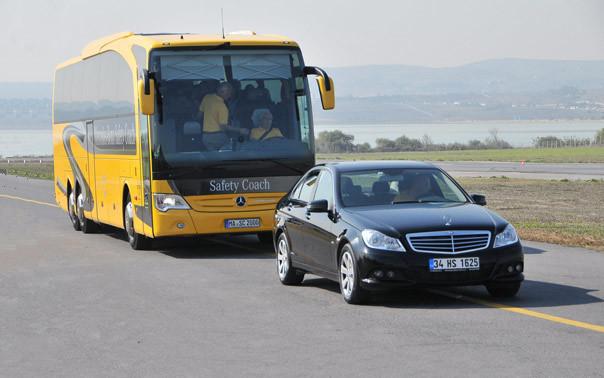 Mercedes Benz Güvenlik Test Videoları