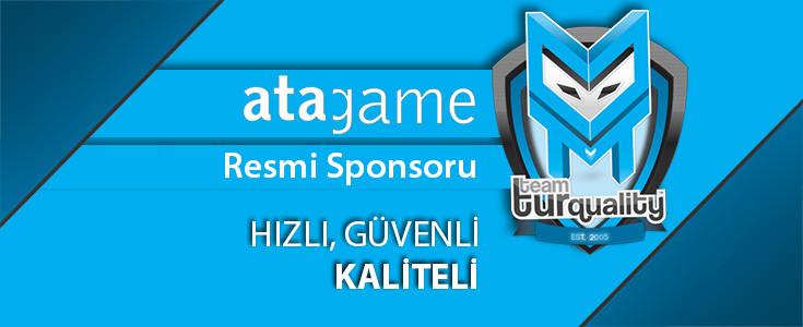 AtaGame, artık Team Turquality'nin Resmi Sponsoru!