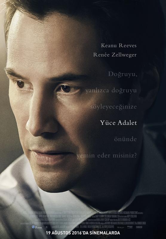 Yüce Adalet türkçe poster