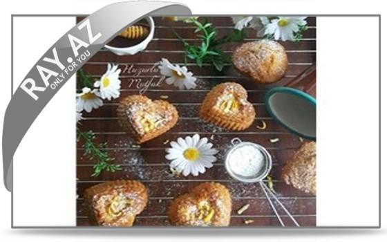 Ballı-limonlu keks