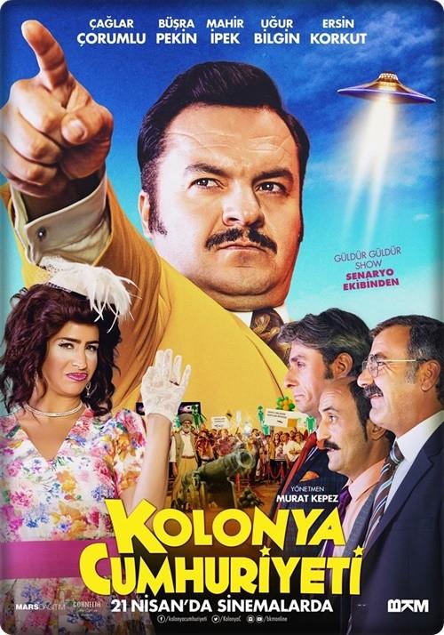 Kolonya Cumhuriyeti | 2017 | Yerli Film | DVDRip | MKV | KOTA DOSTU | 460 MB | Sansürsüz | Tek Link
