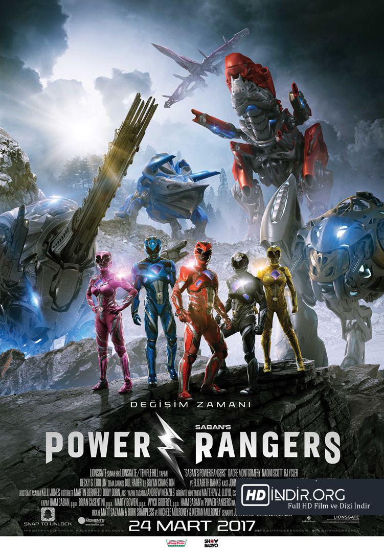 Power Rangers (2017) Türkçe Dublaj HD Film İndir