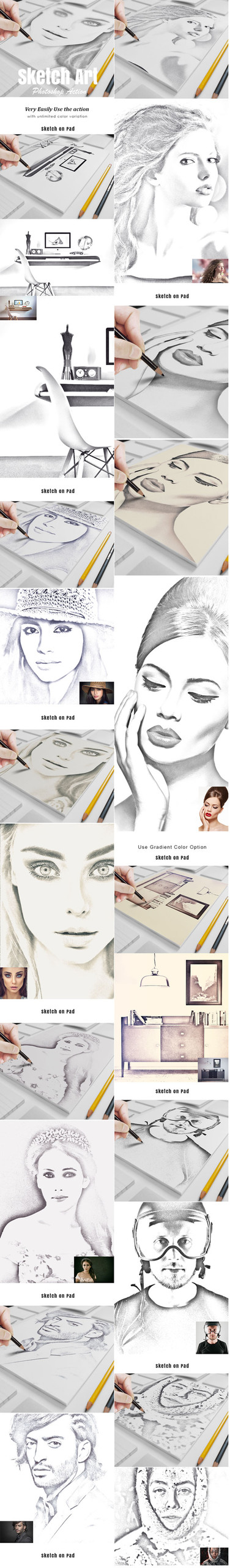 Sketch Art Effect Photo Action