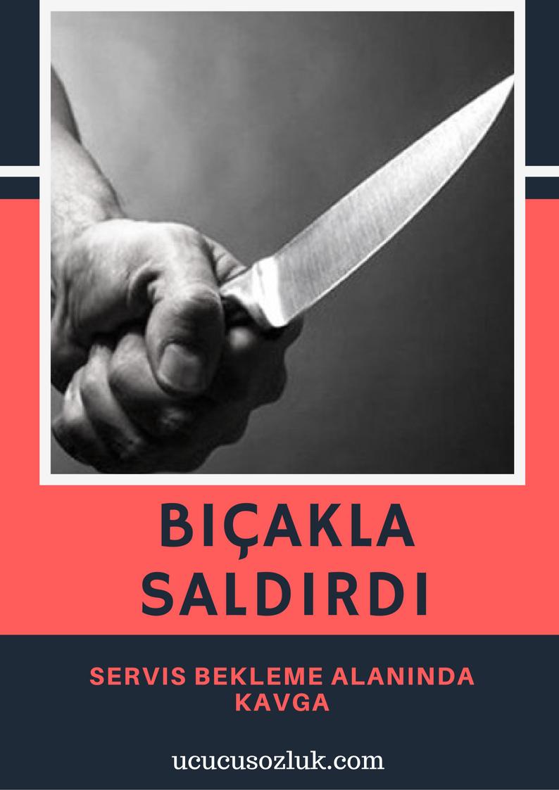 Bıçakla Saldırdı