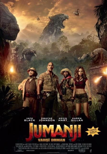 Jumanji: Vahşi Orman Türkçe Dublaj izle – Tek Parça