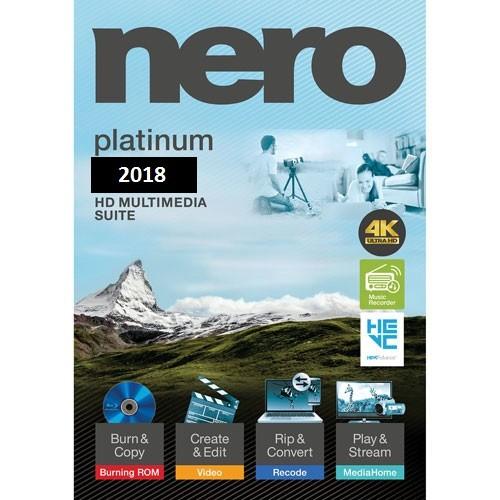 Nero Platinum 2018 Suite + Content Packs Full İndir Türkçe