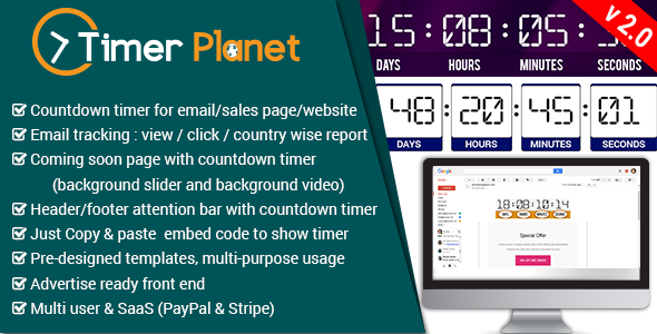 Ücretsiz TimerPlanet v2.0 Scripti