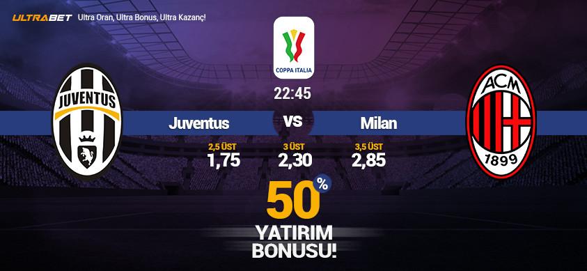 Juventus - Milan Canlı Maç İzle