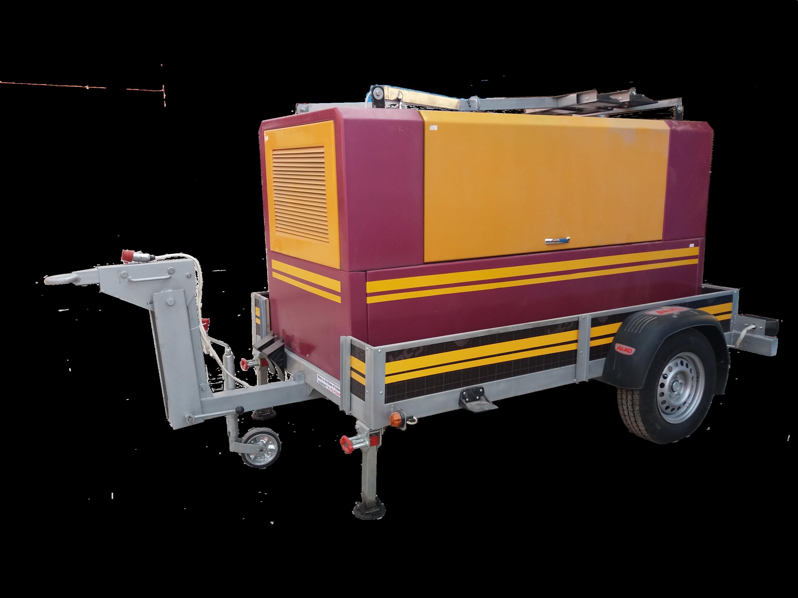 Агрегат  дизельный многофункциональный компресорно сварочный  передвижной ДГКА – 400МП