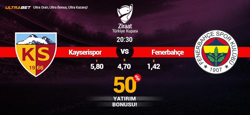 Kayserispor- Fenerbahçe Canlı Maç İzle