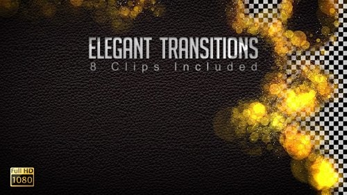 Elegant Transitions - Motion Graphic-VH