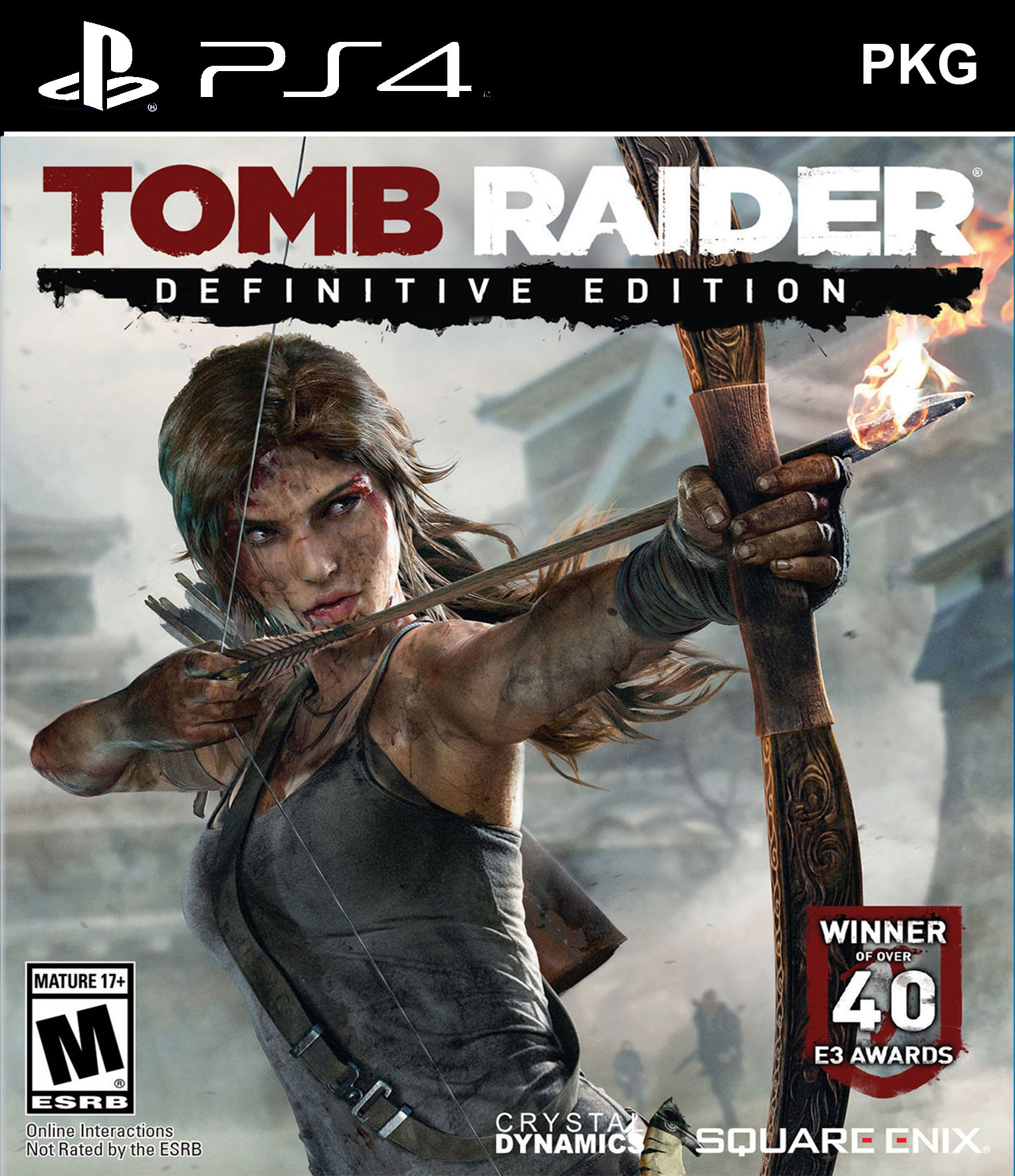 Tomb Raider: Definitive Edition PKG Oyun İndir [4.05