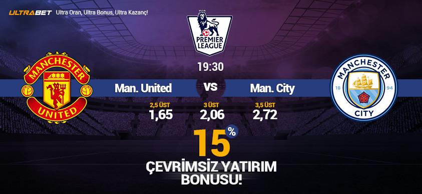 M. United - M. City Canlı Maç İzle