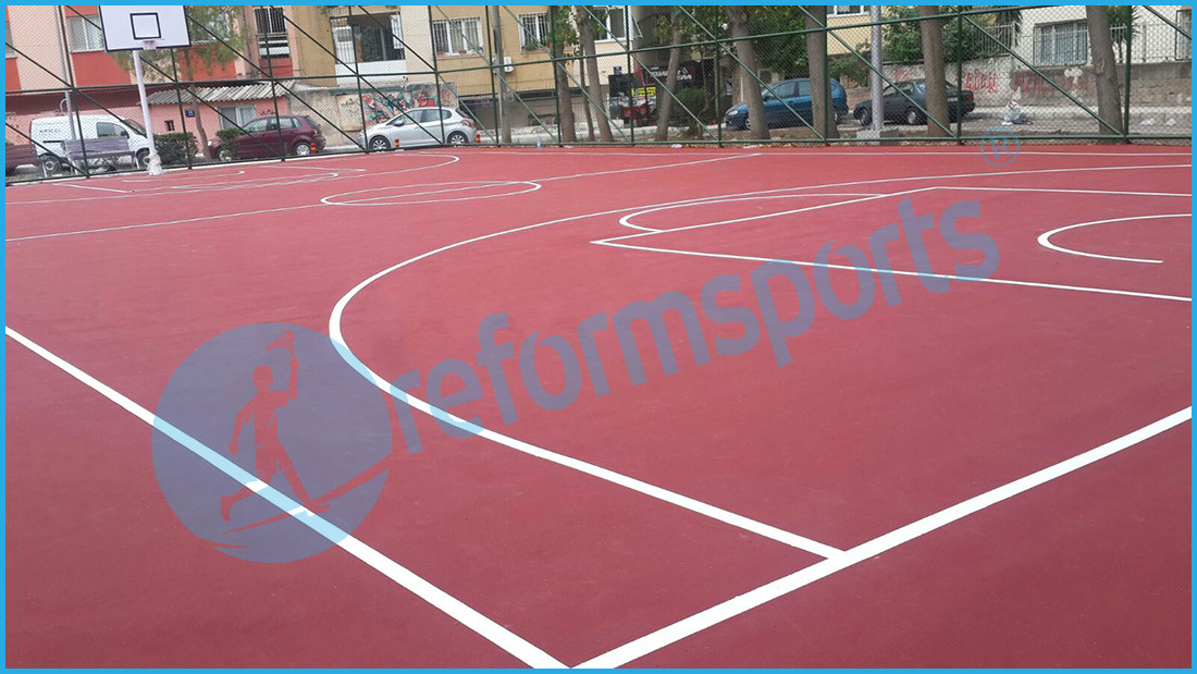 acriclig flooring price paint basketball