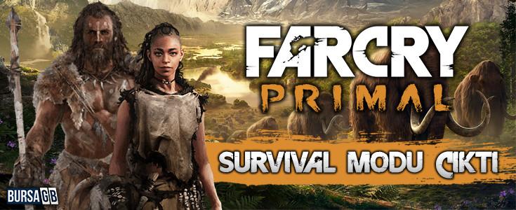 Far Cry Primal Survival Modu Çikti !