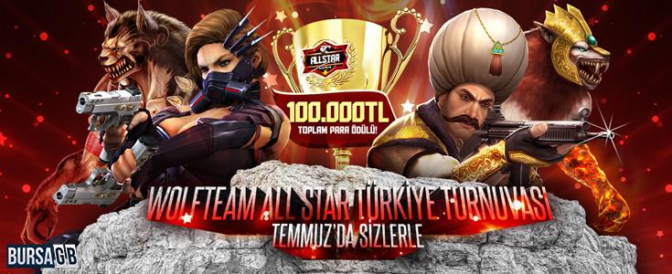 Wolfteam All Star Türkiye Turnuvası Başlıyor