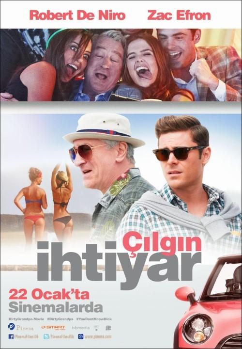 Çılgın İhtiyar - Dirty Grandpa (2016) - türkçe altyazılı film indir