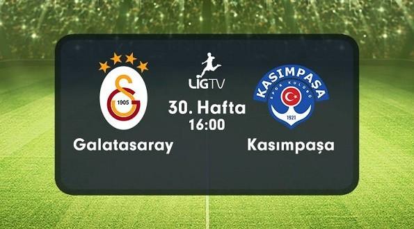 Galatasaray – Kasımpaşa (24.04.2016) | HDTV 720p | Full Maç – VKRG