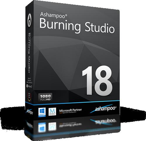 Ashampoo Burning Studio 18.0.6.29 | Katılımsız