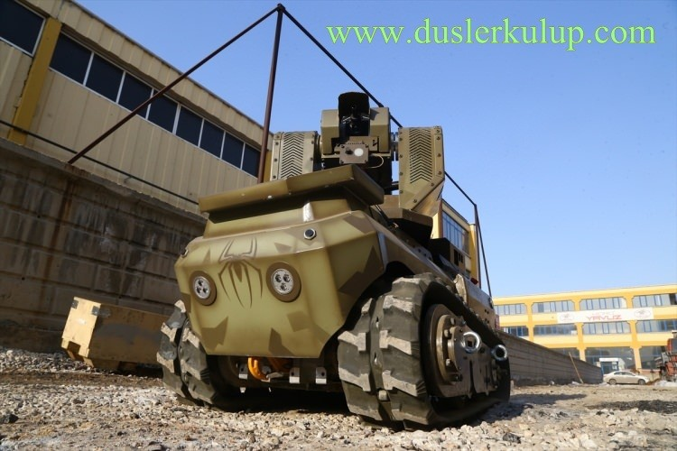 Yerli Yapım Milli Zırhlı Mini Tank Ankebot Hakkında Bilgi