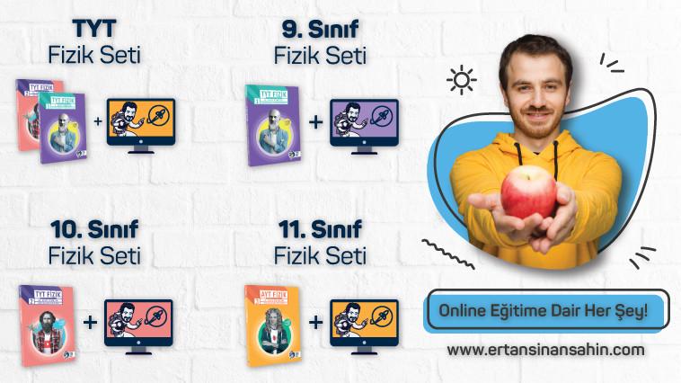 Ertan Sinan Şahin - Online Fizik Eğitim Setleri