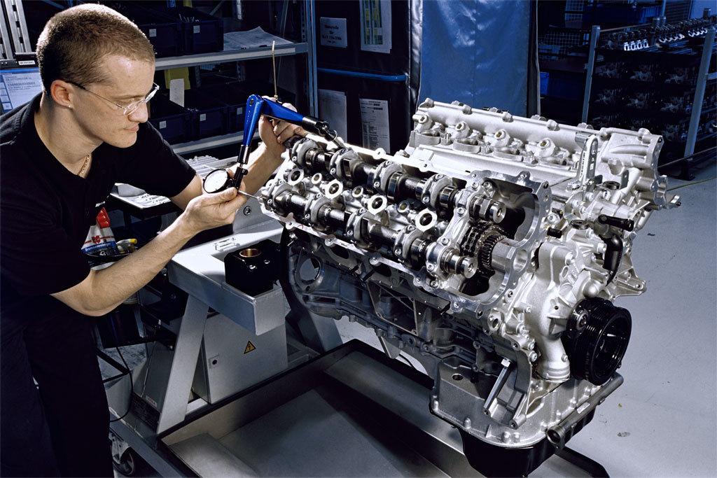 Mercedes AMG Motor Üretimi