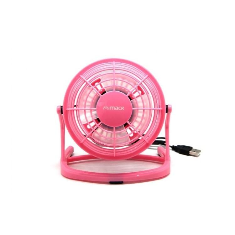 MACK Masaüstü Plastik Pembe USB Mini Fan MCF-10-PK