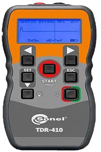 TDR-410 yeraltı kabloları arıza tespit cihazı