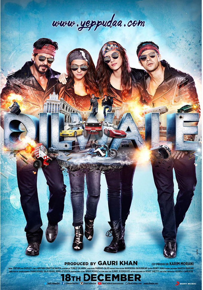 Dilwale / 2015 / Hindistan / Mp4 / TR Altyaz�l�