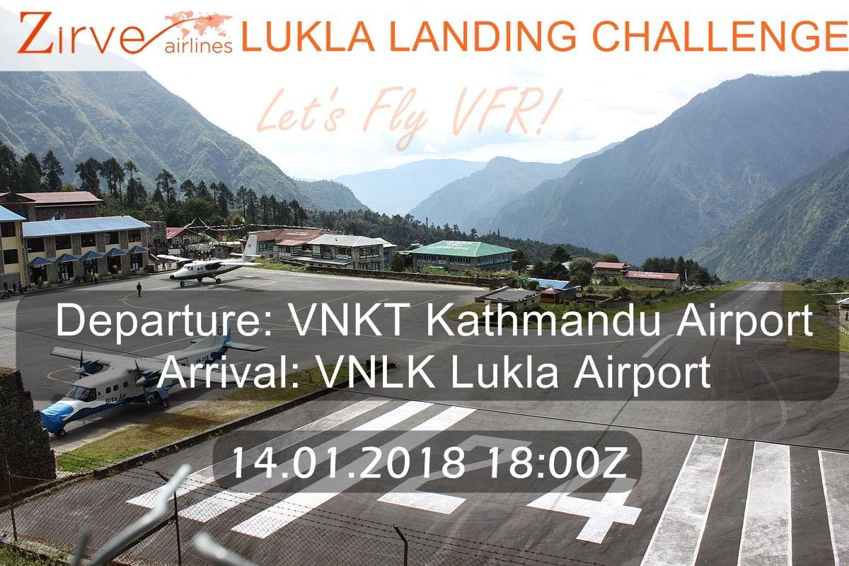 Lukla Landing Challenge