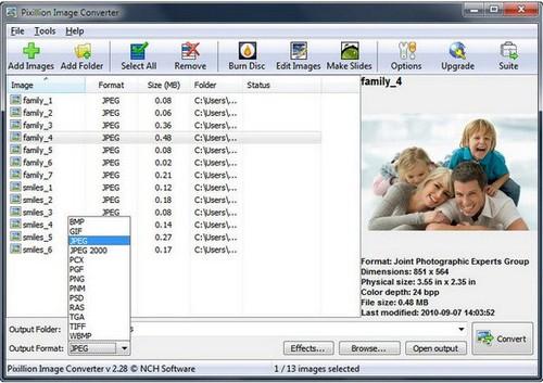 NCH Pixillion Image Converter Plus 5.02 Beta Full İndir