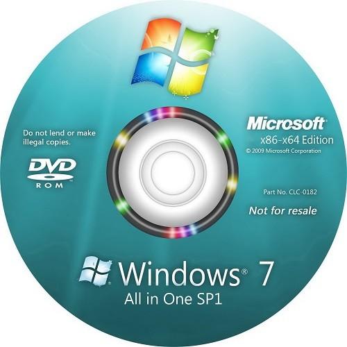 Windows 7 - AIO - SP1 - Şubat 2018 [x32 - x64 Bit]