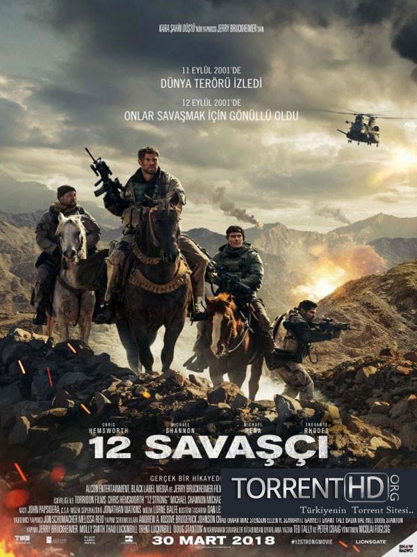 12 Savaşçı - 12 Strong indir (2018) Türkçe Altyazı 720p Torrent İndir