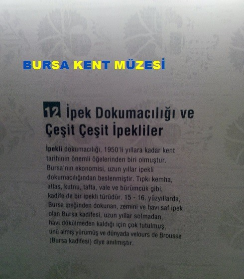 Bursa Kent Müzesi gezimiz Görsel
