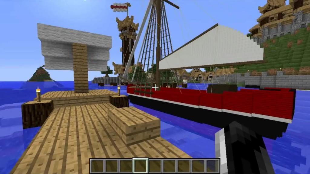 Новая версия мода на летающие корабли на майнкрафт 1.7.10