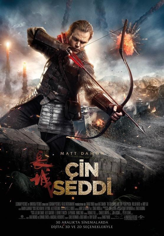 Çin Seddi - The Great Wall 2016 BluRay 720p - 1080p DUAL TR-ENG Türkçe Dublaj  - Film indir  Tek Link Film indir