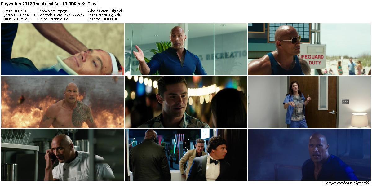 Sahil Güvenlik - Baywatch 2017 (BluRay 1080p - Theatrical Cut) DuaL TR-ENG
