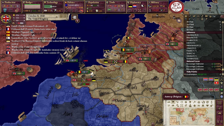 Victoria 2 - Multiplayer : Haziran 2017