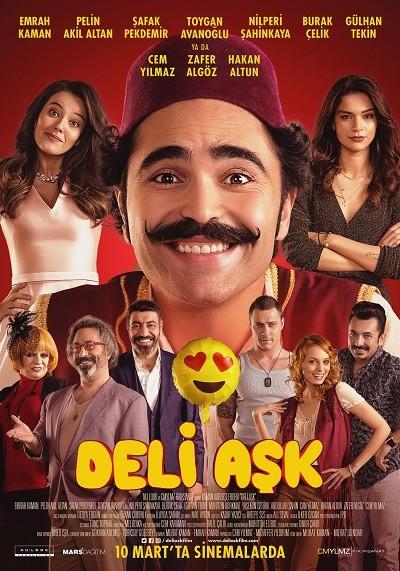 Deli Aşk 2017 Sansürsüz m720p WEBRip  Yerli Film - Tek Link