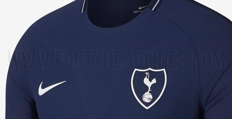 Nike Tottenham 17 18 Away Kit 3