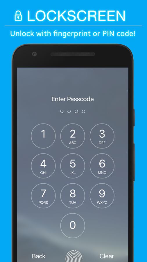 S8 Locker - Fingerprint PIN code Keypad Lockscreen Apk