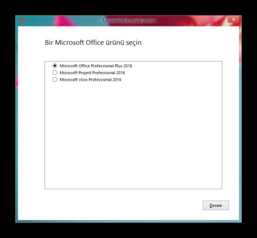 Microsoft Office Pro Plus & Project Pro & Visio Pro 2016 VL TR   3 Ekim 2015   Güncel
